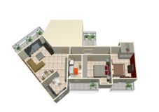 AP375 -Apartment  81 sq.m – Kalamata -155000€
