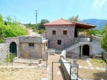 VL400 – 2 Storey stone villa 130 sq.m. – Pirgos Lefktro – 180000 €